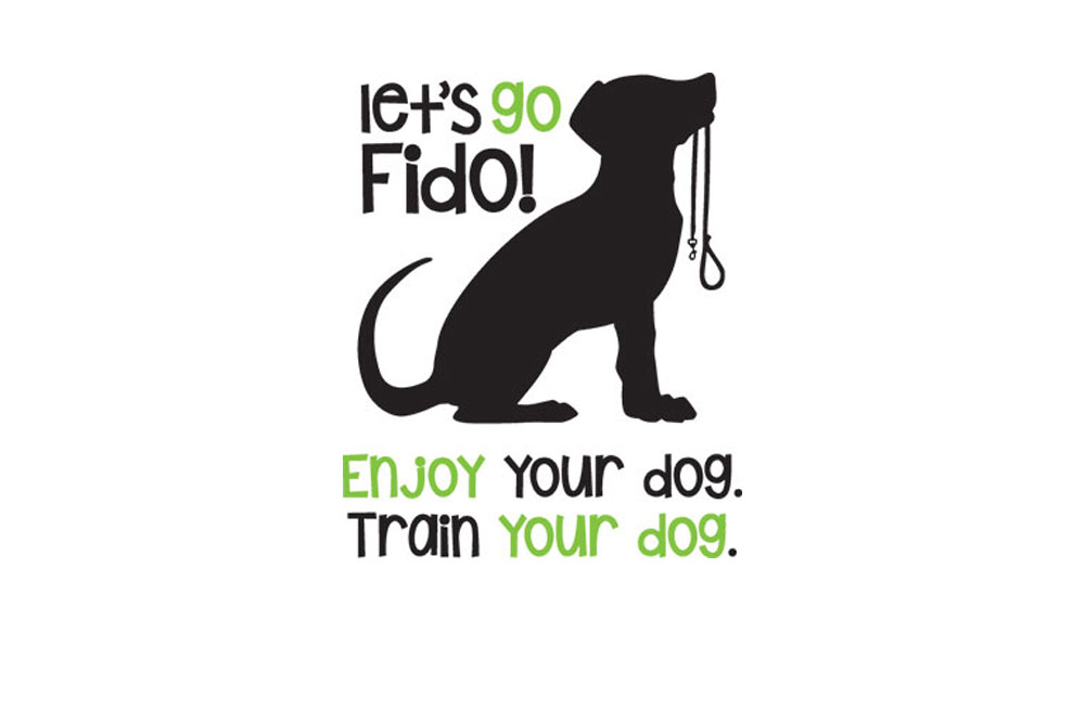 Let's Go Fido! Logo With Tagline.