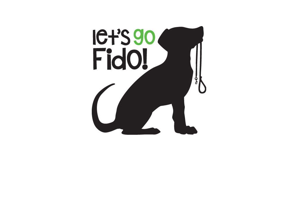 Let's Go Fido! Logo.