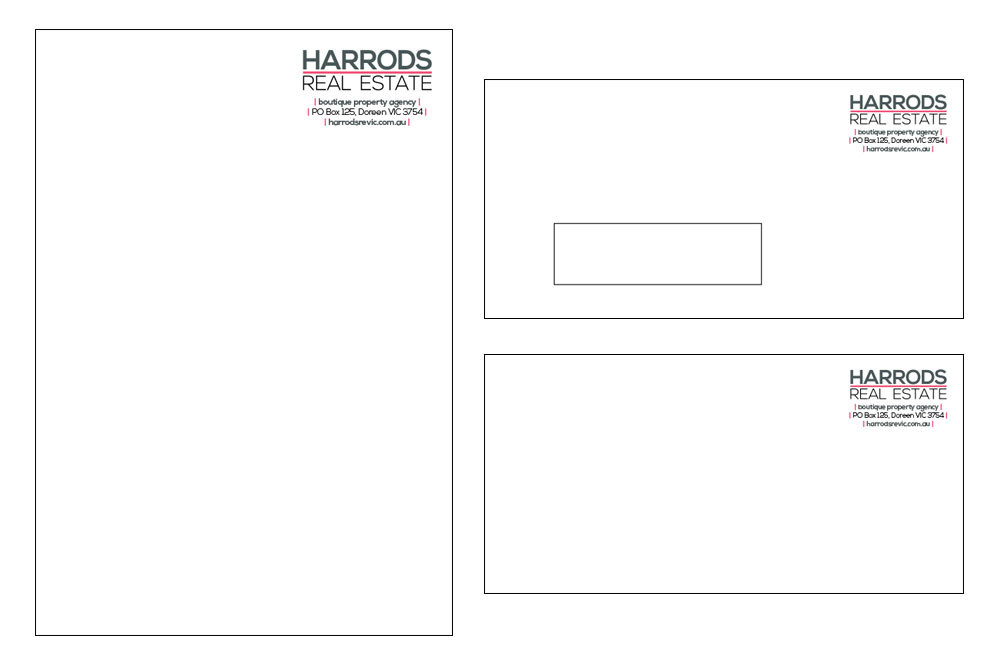 Portfolio-harrods-letterhead-envelopes