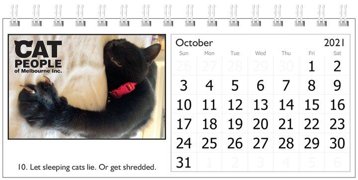 UBC Calendar 2021 10 October
