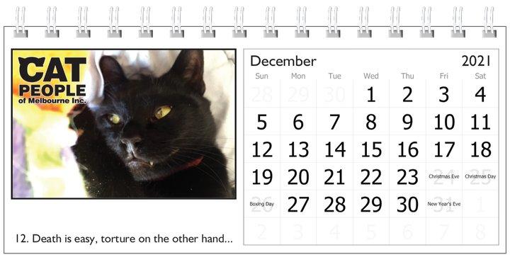 UBC Calendar 2021 12 December