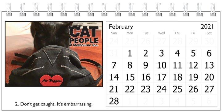 UBC Calendar 2021 2 February