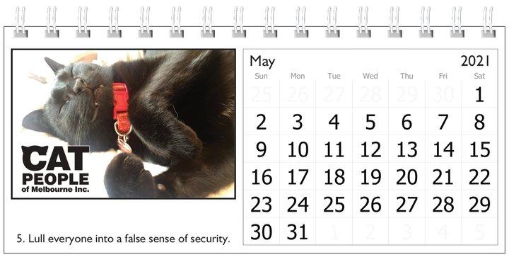 UBC Calendar 2021 5 May