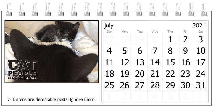 UBC Calendar 2021 7 July